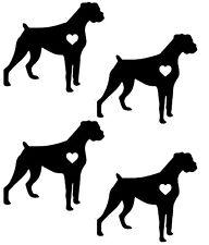Boxer Dog Sticker Vinyl Decal All Colours ANIM104