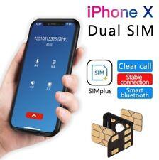 Dual SIM Adaper SIMHUB Separator Nano SIM Card For iPhone X 8 7 6s 6 Plus