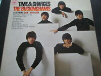 The Buckinghams Time And Charges Favorites  lp album 33 1/3 rpm