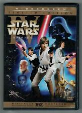 STAR WARS IV A NEW HOPE WIDESCREEN 2-DISC DVD episode four 4 wide screen