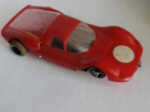 slot car 1:24 red Ferrari GT COX(?) mid 1960's