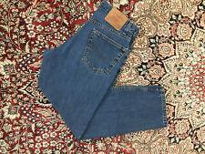 vtg 90s Levi's 550 Blue Jeans men's 31x30 High Waisted boyfriend made in usa 710
