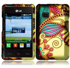 Hard Faceplate Cover Case for TracFone Wireless LG 840G LG840G 840 G Phone