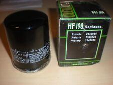 HiFlo Hiflofiltro -  HF198 Oil Filter Polaris 2540122, Victory 2540086