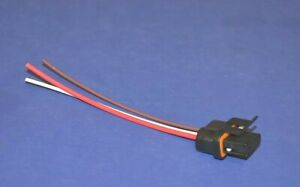 Alternator 3 Lead Wiring Harness Connector 1986-1990 GM Chevy GMC Buick Olds