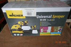 WAGNER W 690 FLEXiO Universal Spray - Black/Yellow (2361543)
