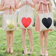 """B&B Shopping Eco Bag """"HEART"""" - Yellow Gold Matte"""