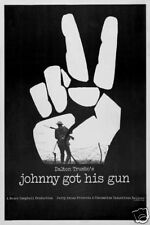 Johnny got his gun Vintage movie poster print
