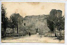 CP 02 AISNE - Coucy-le-Château - La Porte de Laon (extérieur)