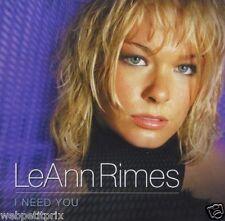 Leann Rimes : I Need You -  ALBUM /CD - OCCASION