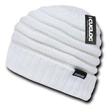 White Knit Warm Reggae Winter Ski Skull Cuff Sweater Beanie Beanies Cap Hat Hats