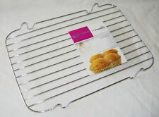 "NEW METAL COOLING RACK FOR CAKES BISCUITS BAKING 12"" x 8"" or 20 x 30 cms PRIMA"