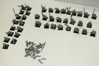 Approx 40 Warhammer Age of Sigmar Skaven / Rat Figures - Unpainted / Incomplete