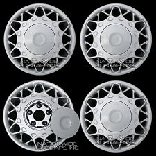 "4 1997-2005 Buick Century 15"" Bolt On Full Wheel Covers Hub Caps Rim Center Hubs"
