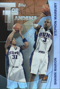 2002-03 Topps Top Tandems Suns Basketball Card #TT4 Shawn Marion/Stephon Marbury