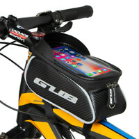 MTB Bicycle Phone Bag Cycling Bike Front Top Frame Pannier Tube Bag Case Pouch