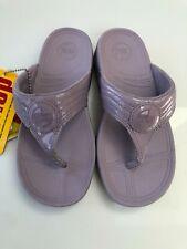 FitFlop Girls Purple Flip Flops