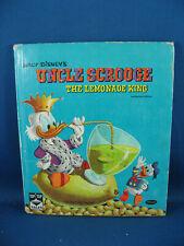 UNCLE SCROOGE THE LEMONADE KING CARL BARKS SCARCE BOOK VG+ 1960