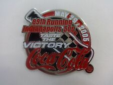 2005 Indianapolis 500 Taste The Victory Coca-Cola Collector Sponsors Lapel Pin