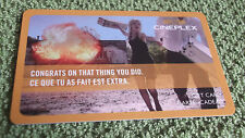 Cineplex Gift Card Congratulations Collectible $0 value - FD38818 - Canada