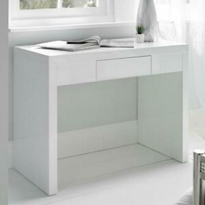 Puro High Gloss Dressing Table - Four Colours
