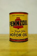 Pennzoil aircraft 1 quart oil can empty
