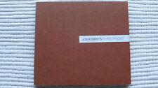 Joe Roberts Three Tracks (Rare/Near Mint) UK Promo CD