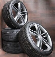 Winterräder für Audi A4 S4 B8 Allroad A5 S5 A6 4F Q3 8U 18 Zoll Alufelgen Avus