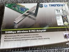 NEW TRENDnet TEW-423PI 54Mbps Wireless G PCI Adapter