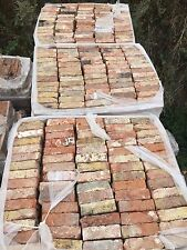 Reclaimed Victorian Imperial London Red Multi Stock Bricks - 15,000 Available.