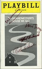 Playbill - TO GRANDMOTHER'S HOUSE WE GO - Signed By Four Cast Members