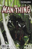 Man-Thing Comic 1 Cover D Venomized Variant Stephanie Hans First Print 2017