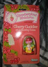 Strawberry Shortcake Miniature Cherry Cuddler Rocking Horse Kenner Vintage