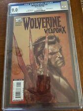 Wolverine Weapon X Issue 1 CGC 9.0