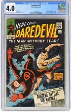 S931. DAREDEVIL #7 Marvel CGC 4.0 VG 1965 Debut of DAREDEVIL Classic Red Costume