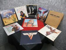 Lot of 9 Vinyl Records Van Halen -- Willie Nelson -- Blues Brothers & MORE!!
