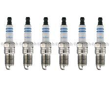 Set Of 6 Bosch Fine Wire Iridium Spark Plugs For Ford Pontiac V6 Mercedes L6