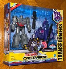 Transformers Cyberverse Power of the Spark Megatron & Chopper Cut Figure Set