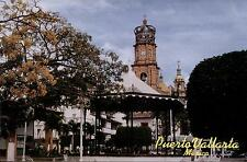 Mexico-puerto vallarta-the Plaza-Towers of Our Lady of Guadalupe Church