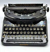 Remington Noiseless Portable Typewriter Early 1930's / N43582 Case