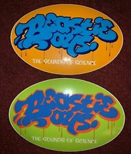 2 New Beastie Boys Vinyl Stickers From Sounds Of Science Cd Ad-Rock Mca Mike D
