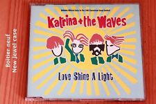 Katrina & The Waves – Love Shine A Light - Boit neuf - CD maxi-single promo RTL