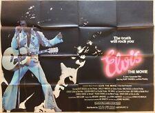 Elvis The Movie Original British Quad Poster 1979 John Carpenter Kurt Russell