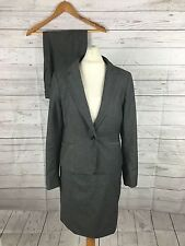 Womens H&M Trouser & Skirt Suit - UK12 - Grey - Great Condition