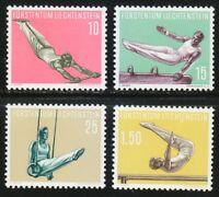 Liechtenstein 1957 MNH Sc 308-311 Mi 353-356 Gymnasts Gymnastic.XF CV 60$