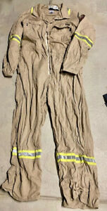 Workrite FR coveralls HRC 2 2112 Compliant Reflective Indura Cotton FRC