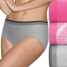 Hanes Ultimate 3-pack ComfortBlend Stretch X-Temp Hipster Panties 41XT Pink 7 L