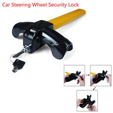 Universal Car Vehicle Anti-Theft Device T Style Car Steering Wheel Security Lock