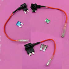 1x-5x Piggy Back Fuse Holder Add a Circuit + Fuse 12V Breaker Motor Car
