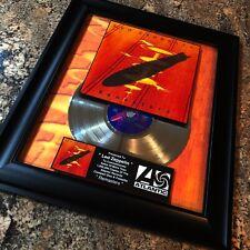 Led Zeppelin REMASTERS Million Record Sales Music Award Album Disc LP Vinyl